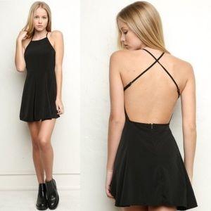 Brandy Melville black Kristen strappy dress